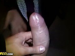 Fuck, suck and squirt in public place