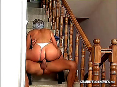 Granny Loves Big Cock And Anal