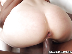 DP interracial lover enjoys it rough