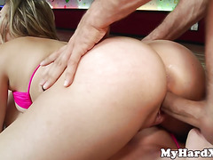 Cunt licking gonzo bent over