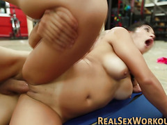 Asians face cream in gym
