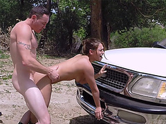 Cute Sara Luvv Takes It Up Her Pussy