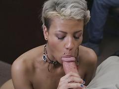 Horny Pawnman fucked sexy pornstar pussy
