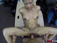 Fucking yor girlfriend while you watch and she loves it