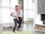 Lindsey Olsen Yoga Trains For Anal