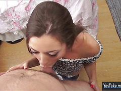 Curvy whore Scarlet Sawyer anal try out
