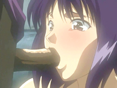 Japanese anime cutie caught and hard poked