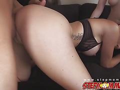 Sexy hottie babe Zoe Parker riding hard cock