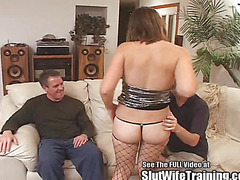 Hot Young Slut Wife Training Double Fuck