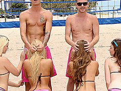 Beach Volleyball As Foreplay