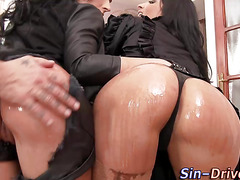 Glam wam babes ass fucked