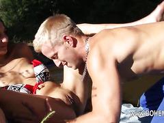 super hot grass sex