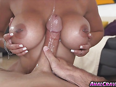 Horny hot babe Diamond Kitty with a huge dick to fuck
