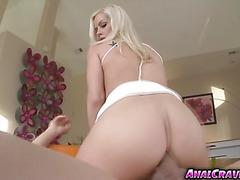 Horny hot babe Tara Lynn Foxx having a large dick