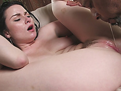 Veruca James loves to feel big black shaft in her tight pussy