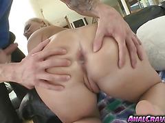 Sexy busty babe Katja Kassin wanted a big dick