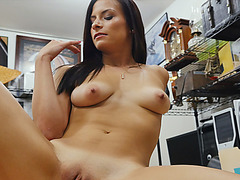 Alexis Deen is desperate for cash and fucks the pawndude