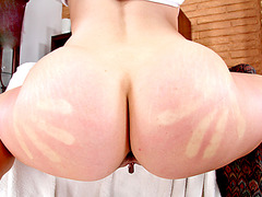 Phat booty bombshell Ashley Fires anal ripped wide open