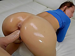 Teen girl Aidra Fox fucked by huge cock