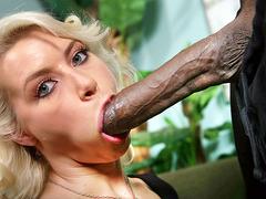 Anikka Albrite takes Mandingo's Black Dick