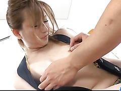 Creampie to end Asian milf,Yukina Momose, dirty porn show
