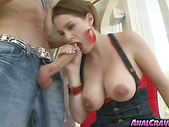 Blondie Allison Moore wanted it in her ass