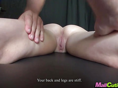 MallCuties - Blonde amateur girl cheats on her boyfriend