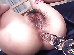 Kanon Hanai sucks cock and gets fucked hard
