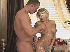 Sexiest Madison Ivy works as part time Masseuse