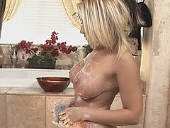 Madison Ivy Soapy Massage Sixty Nine Bathroom