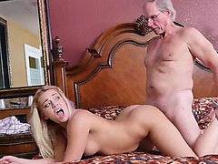 Horny hot chick Kenzie Green loves a large cock