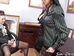 Wam mistress gets fisted
