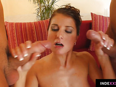 Kate Jones gets her ass drilled gonzo style in anal scene