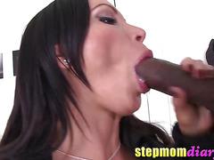 Big Tits Latina MILF Nikki Benz Smokes Cigarette and a Big Black Dick bbc14339