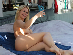 Sweet chick Sarah Vandella loves a cock inside her wet pussy