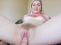 Sweet hot chick Niki Snow fucking hard meaty pole