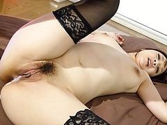 Arisa Araki, big tits Asian, pumped in harsh scenes