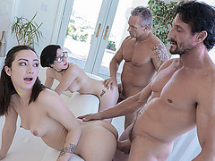 Sweet hot chick Lily Jordan loves to fuck hard cock
