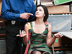 Sexy chick Eden Sin loves to fuck hard massive dick