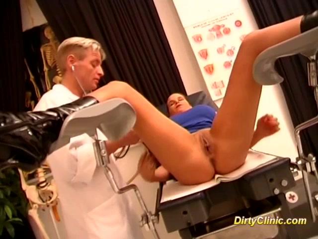 Порно видео грязный гинеколог