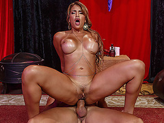 Mercedes Carrera loves giant dick in her ass