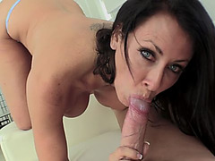 Delicious dick fits perfectly in milf