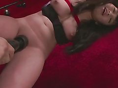 Bound Nene Masaki finds her pretty pussy toyed with until she cums