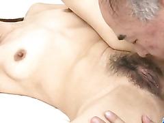 Ruri Hayami enjoys her perky fucking her