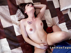Latina girlfriend rekindle her romance