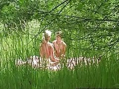 Lesbians In The Woods part 1