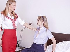 Piano teacher seduces teen student