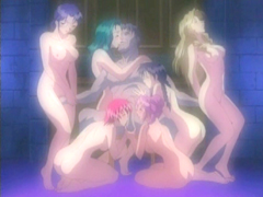 Lucky pervert guy groupfucking by schoolgirls