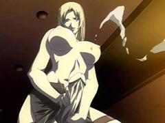 Hentai shemale fucked n cummed orgy