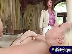 Syren Demer and Jessie Volt anal 3some